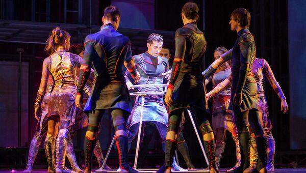 Сцена из спектакля Rizoma