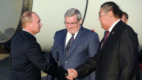 Рабочая поездка В. Путина в Сибирский федеральный округ