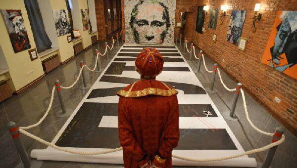 Экспозиция в Музее власти