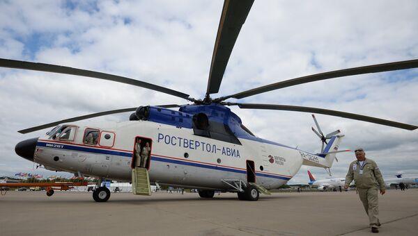 Транспортный вертолет Ми-26Т. Архивное фото.