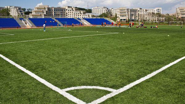 Футбольный стадион, архивное фото