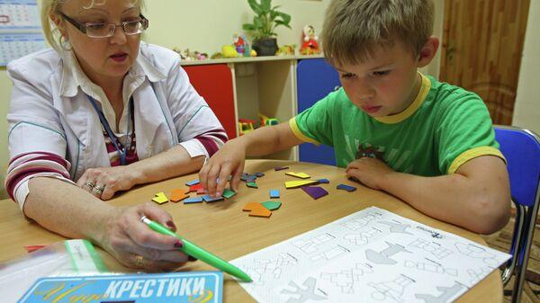 Работа детского психоневрологического санатория Теремок