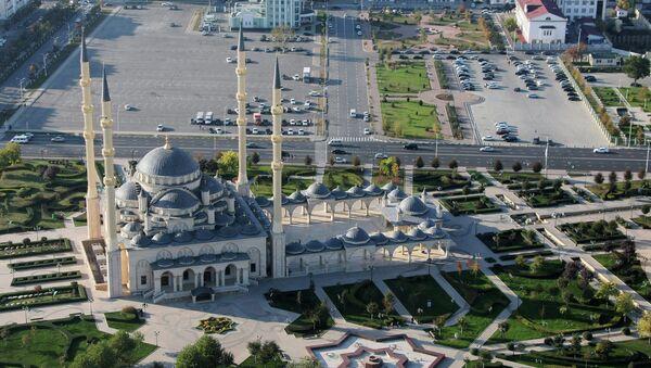 Центральная мечеть им. Ахмата Кадырова Сердце Чечни в Грозномю. Архивное фото