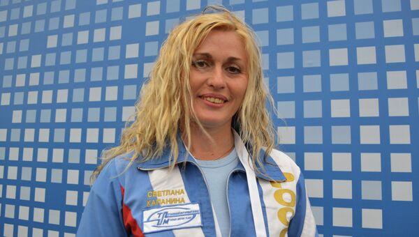 Семикратная чемпионка мира по высшему пилотажу Светлана Капанина
