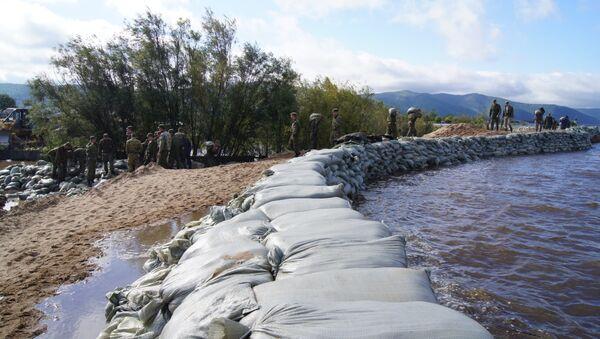 Паводок в Комсомольске-на-Амуре