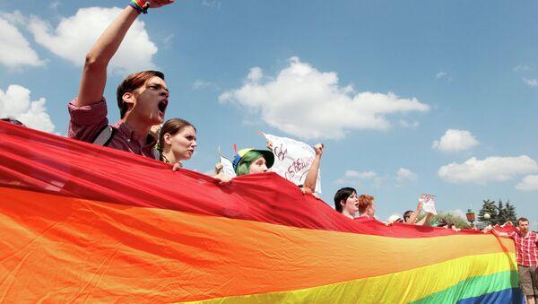 Митинг ЛГБТ-сообщества. Архивное фото