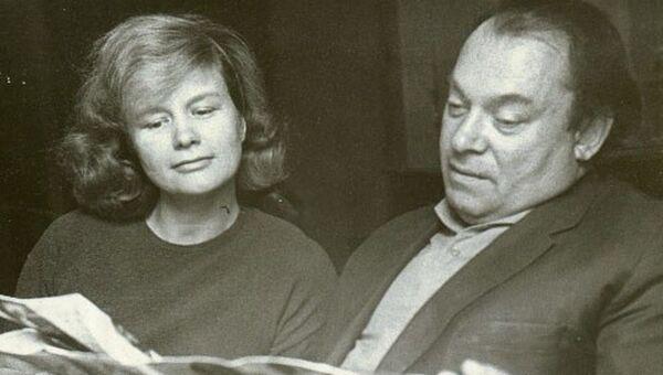 Борис и Галина Заходер. Фото 1960-х гг.