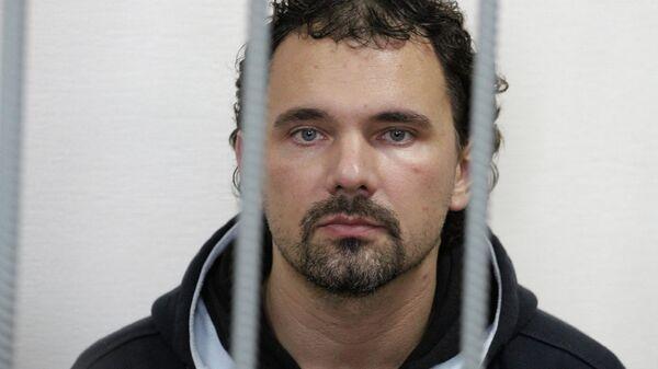 Фотограф Дмитрий Лошагин в зале суда. Архивное фото