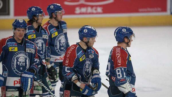 Игроки хоккейного клуба Медвешчак (Загреб). Архивное фото