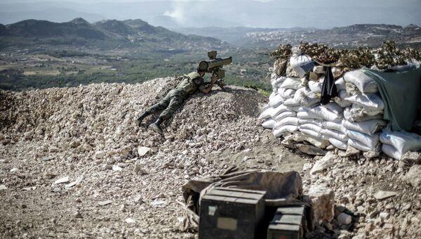 На сирийско-турецкой границе, архивное фото