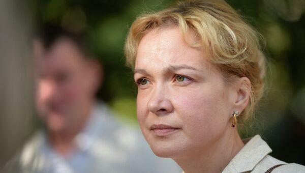 Бывший шеф-редактор информационного агентства Ура.ру Аксана Панова. Архивное фото
