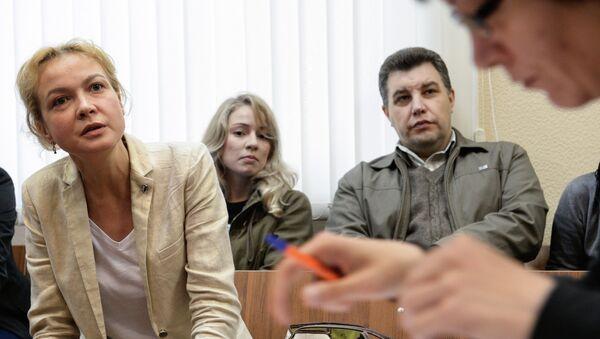 Заседание суда по делу Аксаны Пановой. Архивное фото