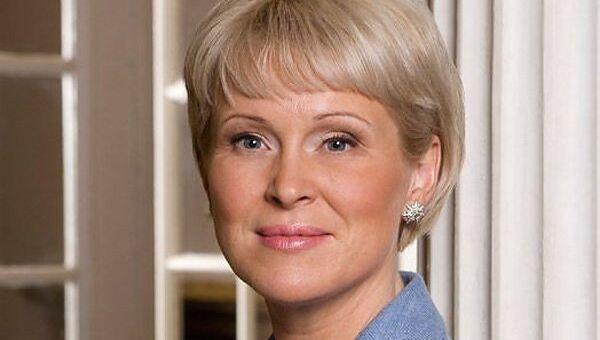Министр культуры Латвии Жанета Яунземе-Гренд