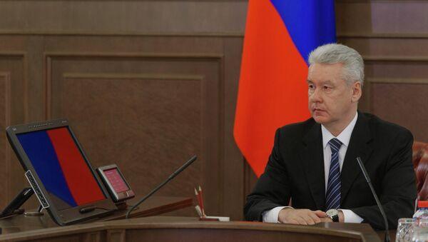 С.Собянин провел совещание по оперативным вопросам, архивное фото