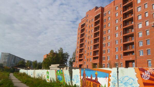 Самовольное строительство в Томске, архивное фото
