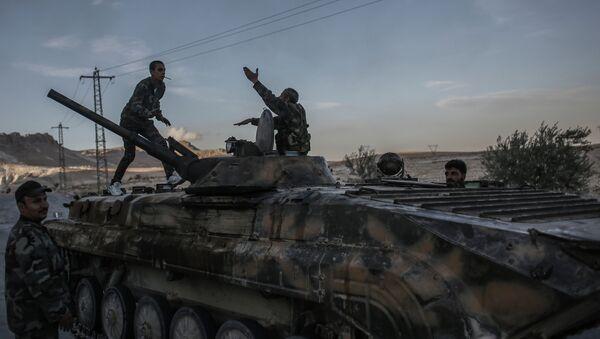 Ситуация в сирийском городе Маалула
