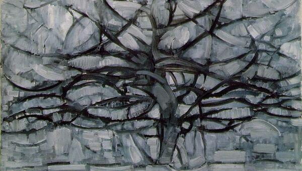Пит Мондриан. Серое дерево. 1912