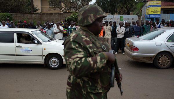 Захват заложников в торговом центре Найроби, Кения