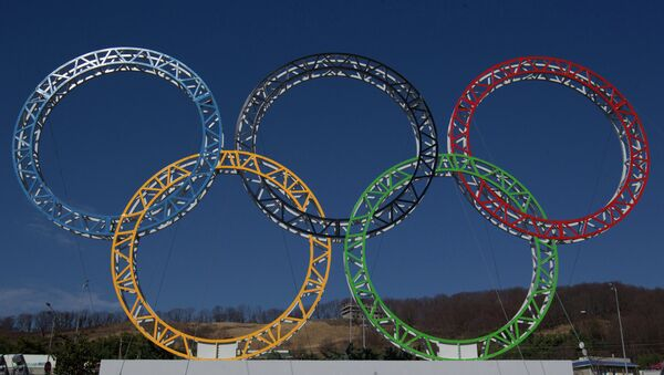 Олимпийские кольца. Архивное фото.