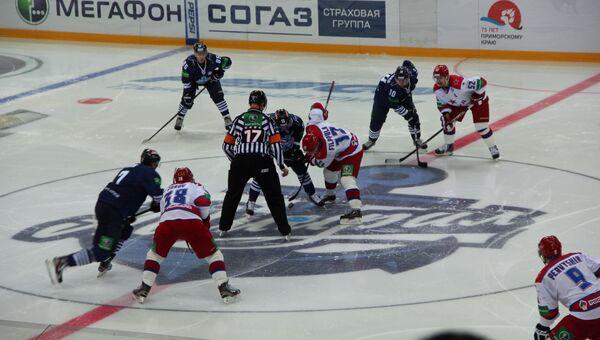 Игровой момент матча Адмирал - ЦСКА