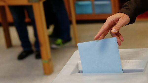 Парламентские выборы в Австрии, фото с места события