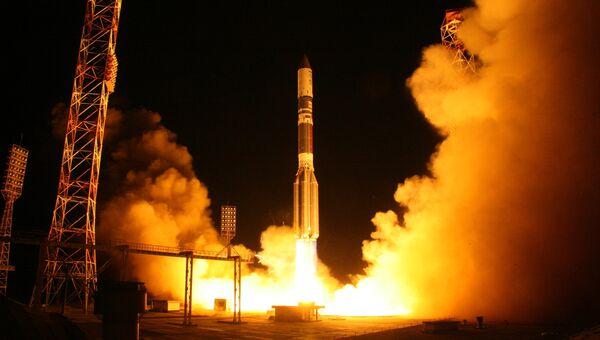 Запуск ракеты-носителя Протон-М. Архивное фото