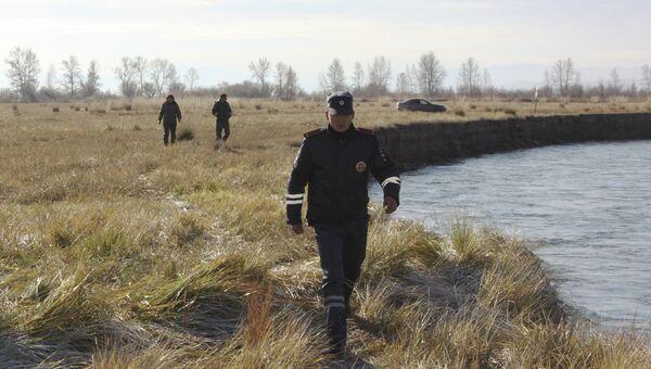 Поиски пропавшего вертолета Ми-8 в Туве. Архивное фото
