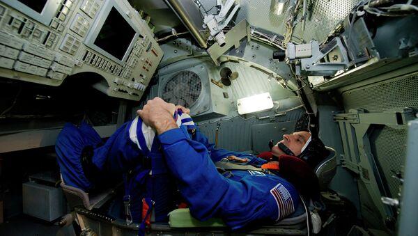 Тренировка экипажа пилотируемого корабля Союз ТМА-11М, фото с места события