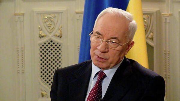 Премьер-министр Украины Николай Азаров, архивное фото