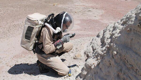 Работа на Марсианской пустынной станции MDRS в штате Юта
