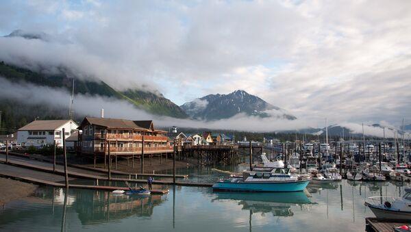 Гавань города Сьюард, Аляска. Архивное фото