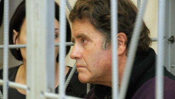 Рассмотрение жалобы на арест Питера Уилкокса. Архивное фото