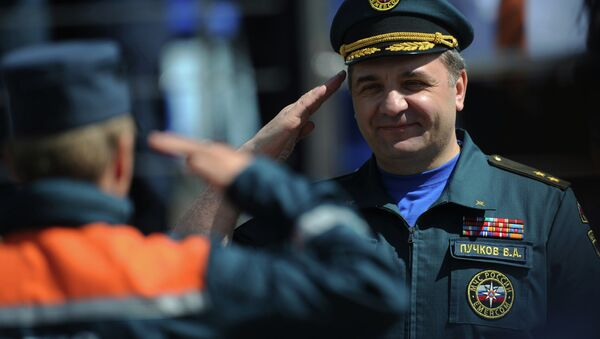 Глава МЧС РФ Владимир Пучков. Архивное фото