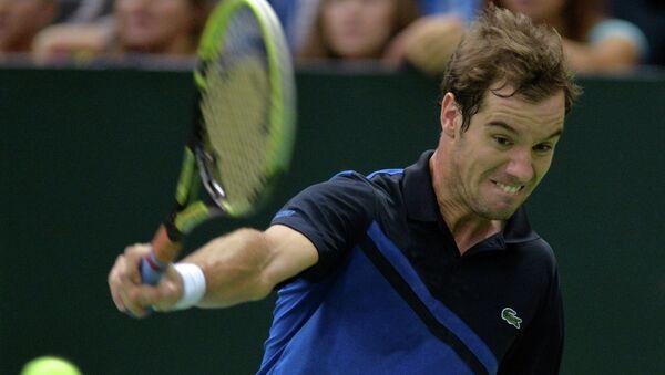 Французский теннисист Ришар Гаске. Архивное фото