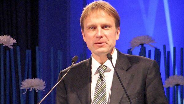 Эстонский дипломат Ээрик-Нийлес Кросс. Архивное фото