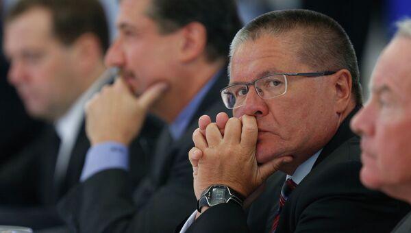 Министр экономического развития РФ Алексей Улюкаев, архивное фото