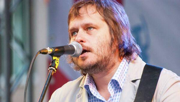 Музыкант Олег Чубыкин