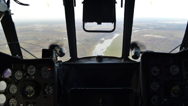 Кабина вертолета Ми-8. Архивное фото