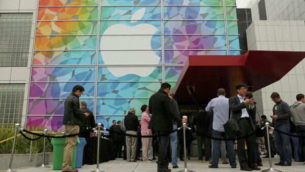 Презентация Apple в Йерба Буэна Сентер, Сан-Франциско (США). Архивное фото