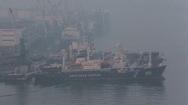 Смог во Владивостоке