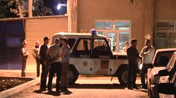 Сотрудники правоохранительных органов в Дагестане. Архивное фото