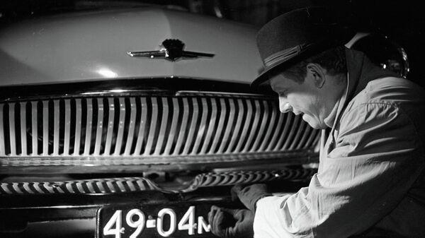 Кадр из художественного фильма Берегись автомобиля