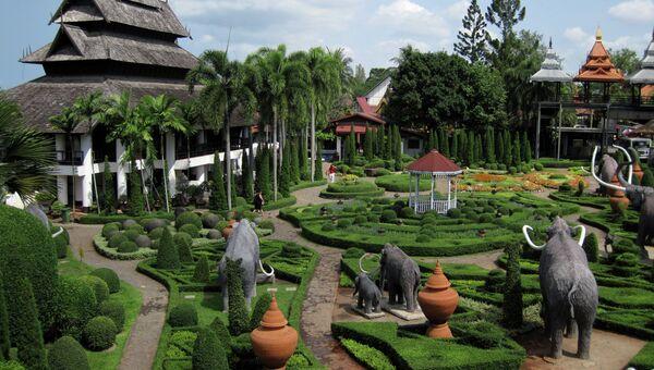 Тропический парк Нонг-Нуч в Паттайе. Архивное фото