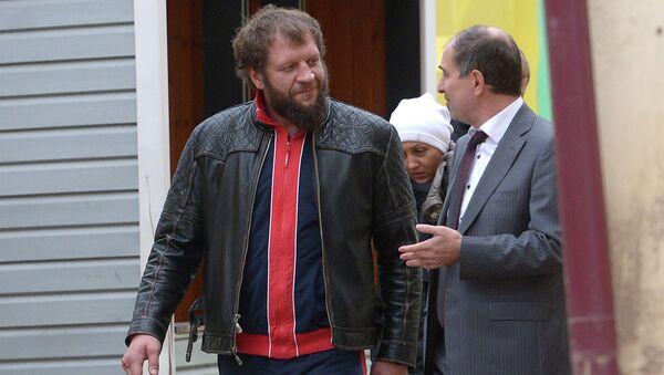 Александра Емельяненко подозревают в избиении посетителя кафе