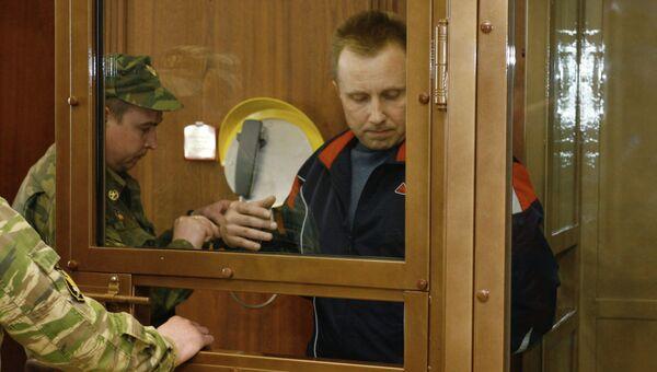 Экс-сотрудник службы безопасности НК ЮКОС Алексей Пичугин. Архивное фото