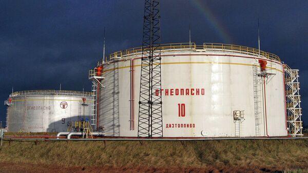 Часть российского предприятия Западтранснефтепродукт в Витебской области, занимающегося транспортировкой дизельного топлива западным потребителям