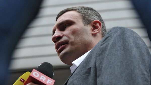 Лидер партии УДАР Виталий Кличко. Архивное фото