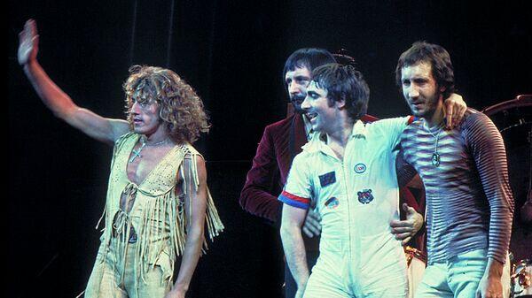Группа The Who, 1975, архивное фото