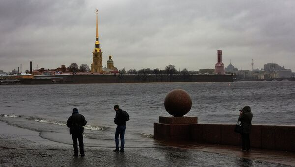 Шторм Святой Иуда в Санкт-Петербурге