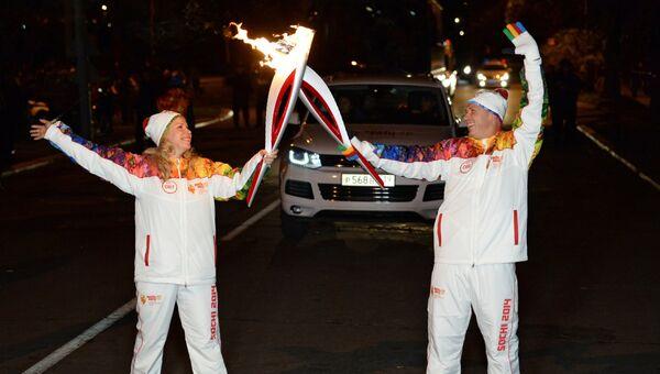 Эстафета Олимпийского огня. Калининградская область
